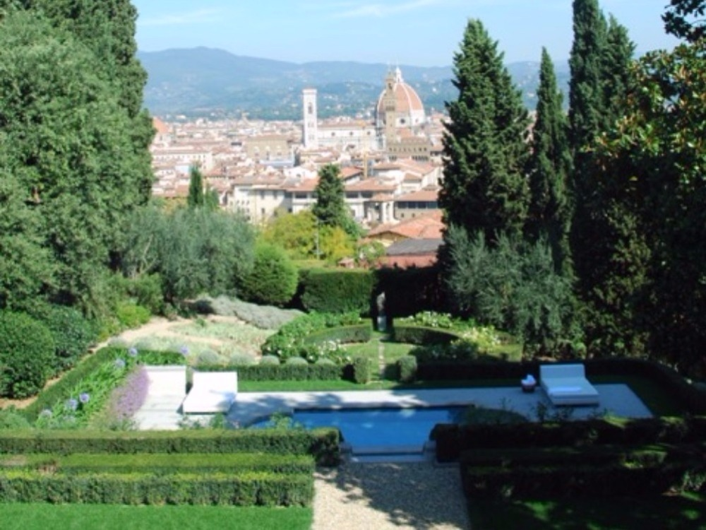 villa al Belvedere panorama - panorama piscina