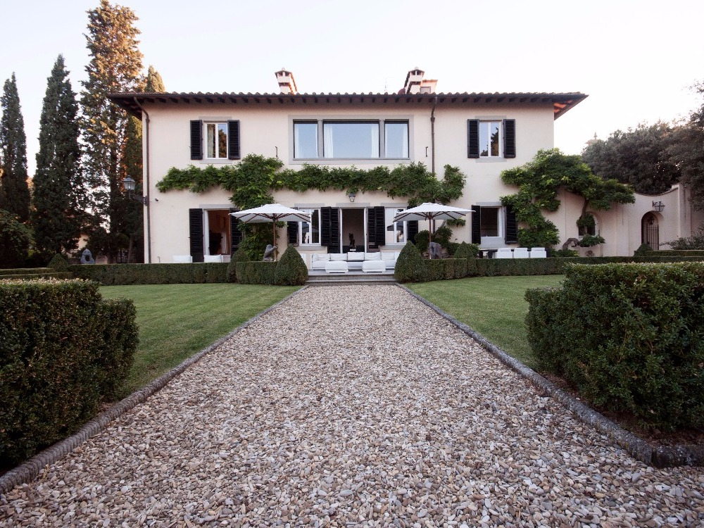 villa panoramica Belvedere - Giardino all italiana