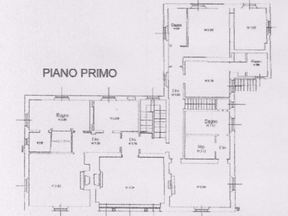 villa panoramica Belvedere - Pianta piano primo