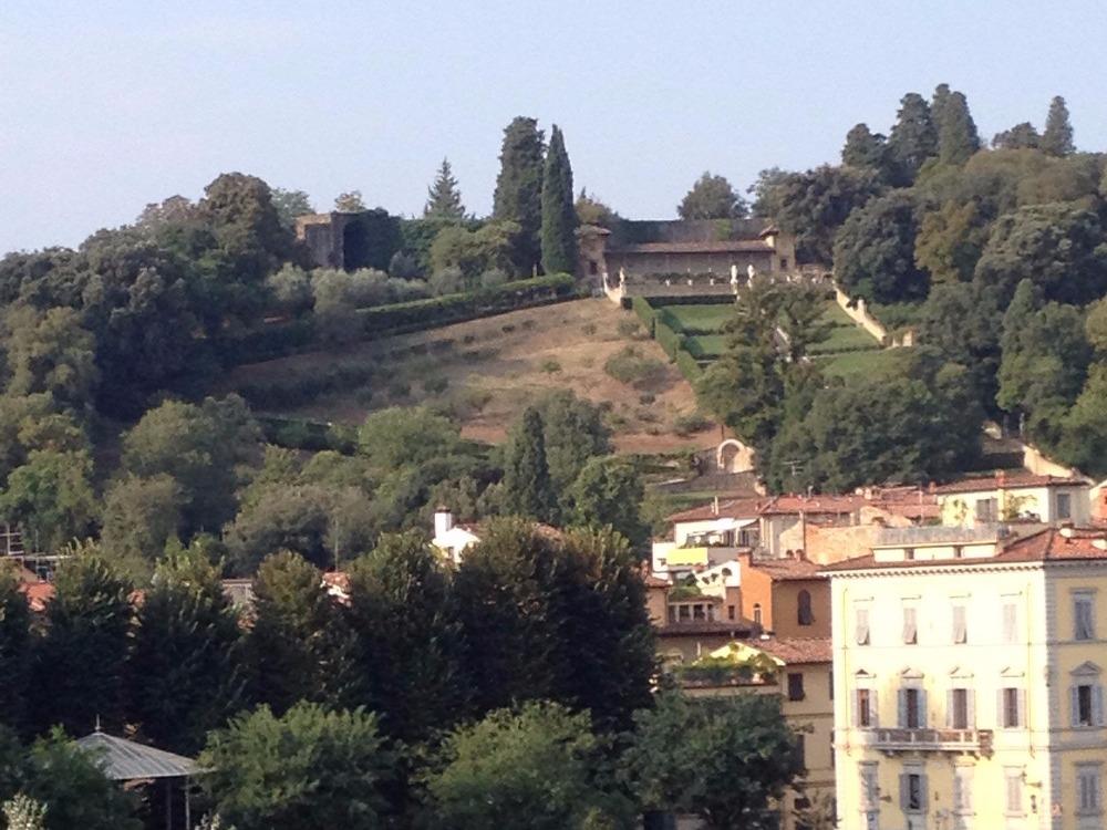 Lungarno Diaz - Panorama Giardino Bardini