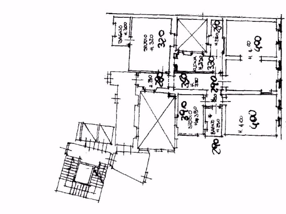 Lungarno Diaz - Pianta Appartamento