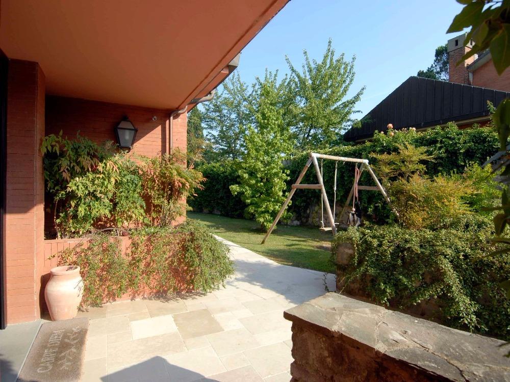 Porta Romana - Ingresso giardino