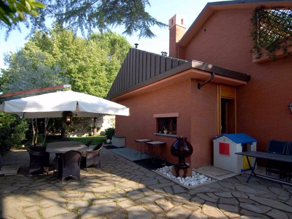 Porta Romana - Giardino area pranzo