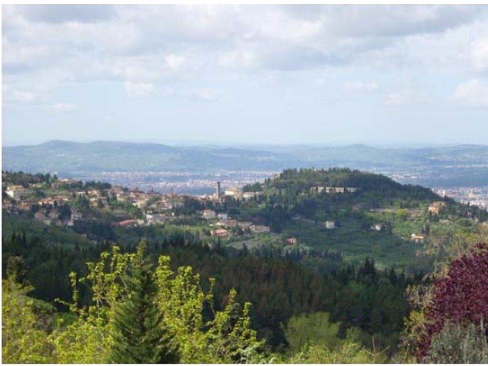 Fiesole porzione Villa piano terreno -  Panorama Fiesole Firenze