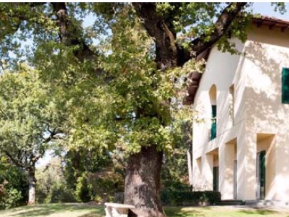 Fiesole terrazzo e giardino Porzione Villa - Facciata occidentale