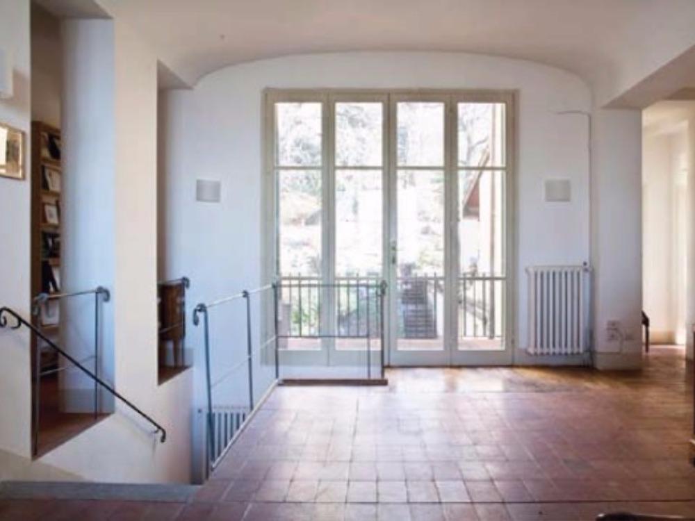 Fiesole terrazzo e giardino Porzione Villa -  Soggiorno Pranzo con Terrazzo