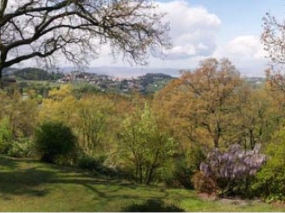 Fiesole terrazzo e giardino Porzione Villa - Panorama su Fiesole e Firenze dalla terrazza del primo