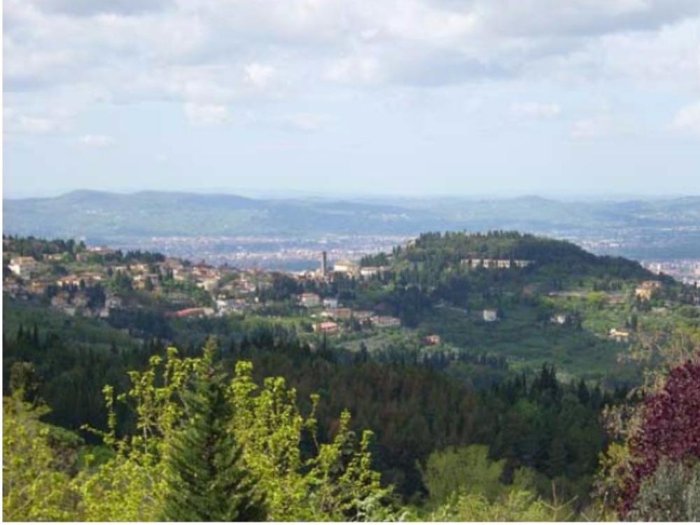 Fiesole terrazzo e giardino Porzione Villa - Panorama Fiesole Firenze